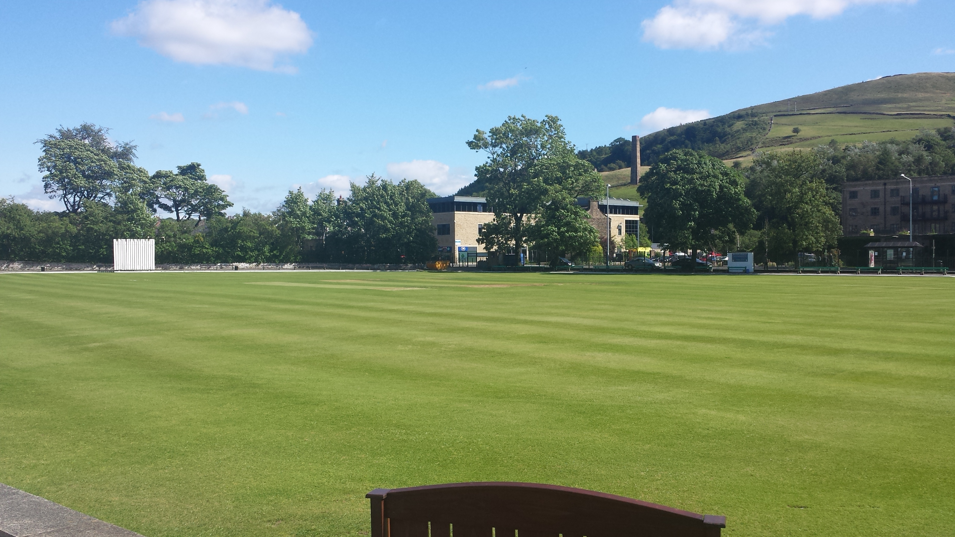 Rawtenstall Cricket Club Bacup Road