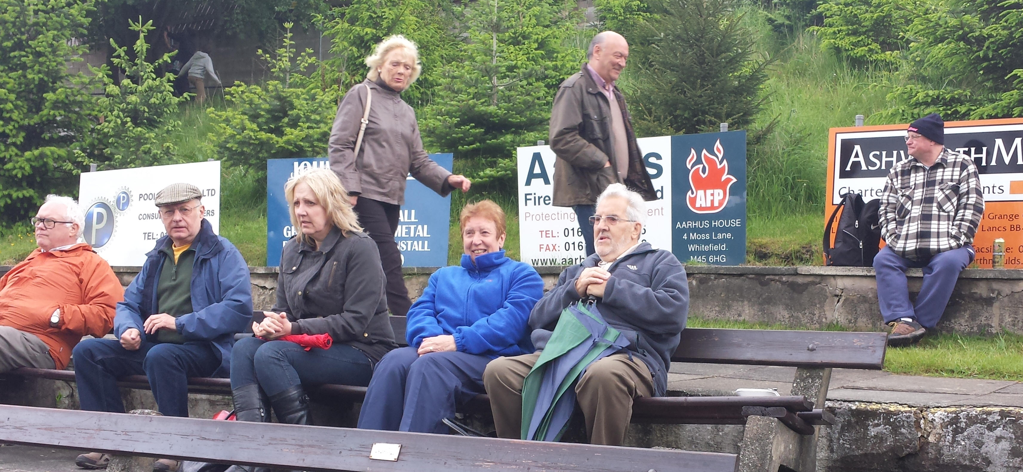 The Hardy few at Rawtenstall Cricket Club