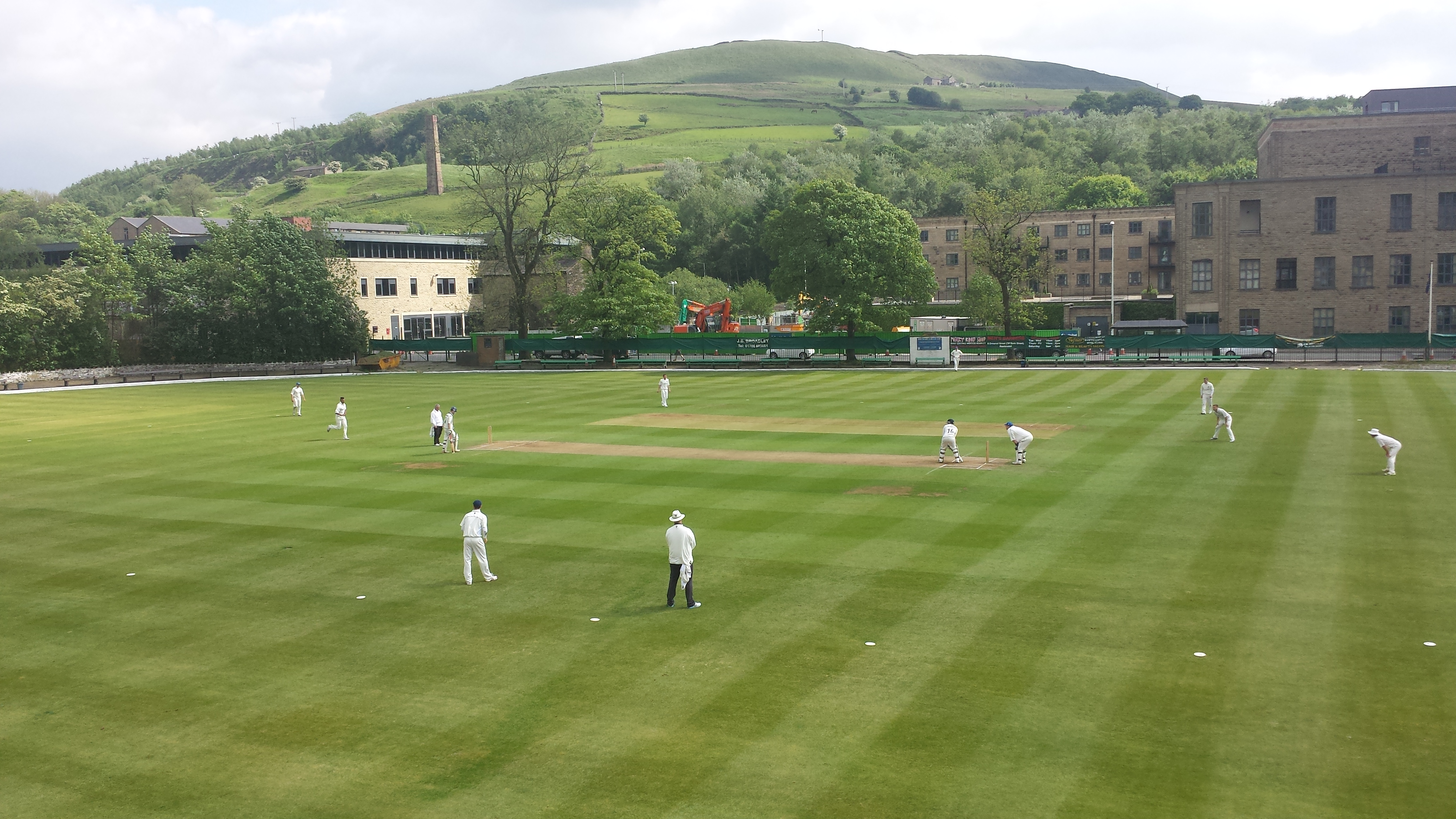 Rawtenstall v Bacup at the WCG